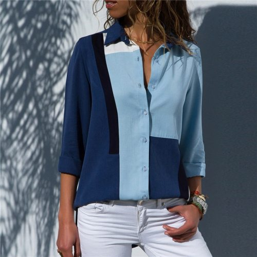 Women Long Sleeve Fashion Blouse