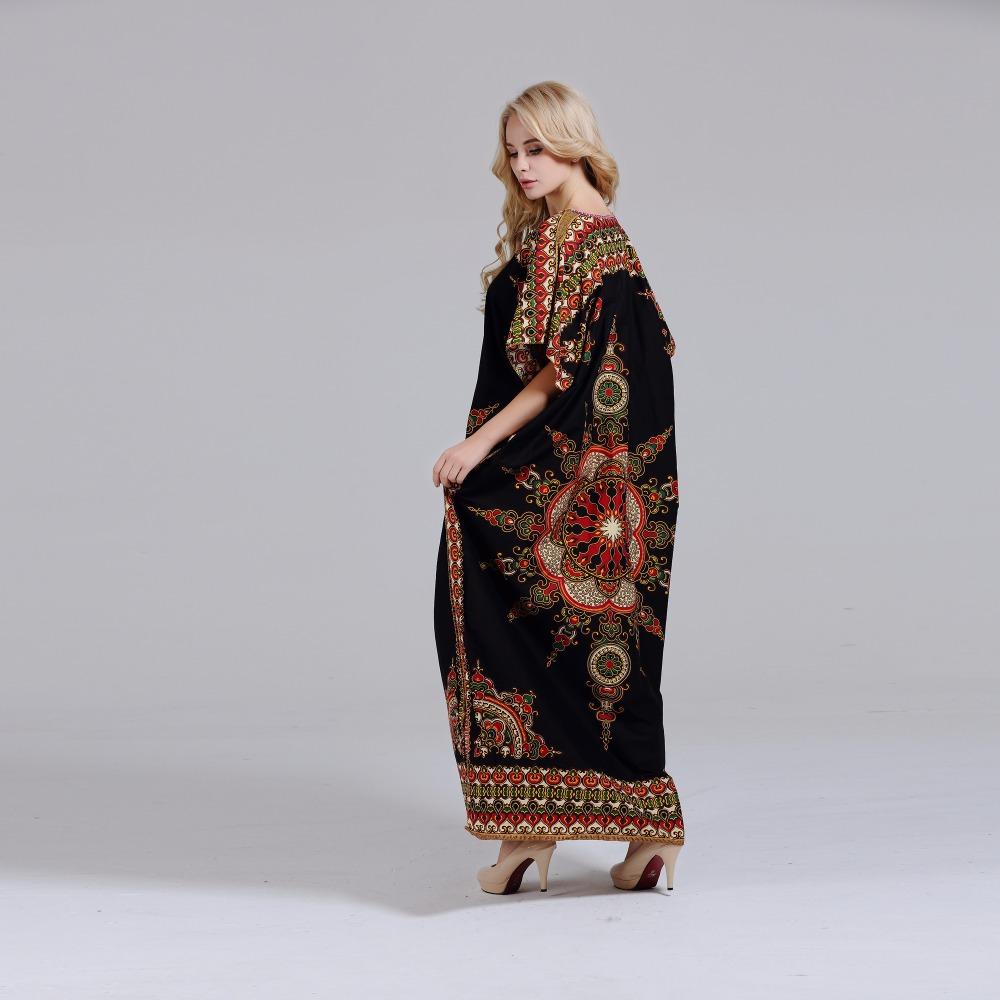 Stunning African Print Dashiki Dress