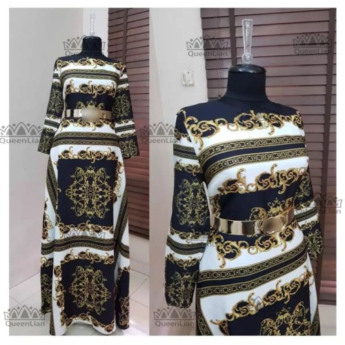 Women Dashiki Sleeve Dress