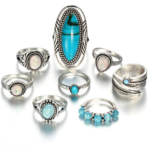 Fashion opal rings