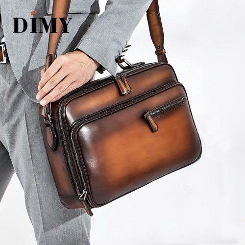 Classy Business Leather Messenger Bag