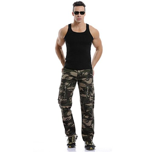 Fashion Men Camo Pants