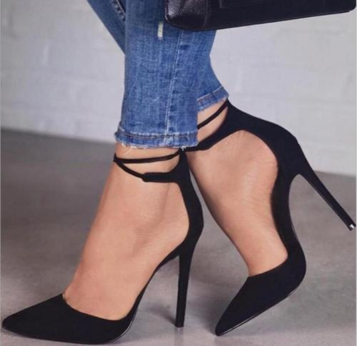 Stiletto Pointed Toe Heels