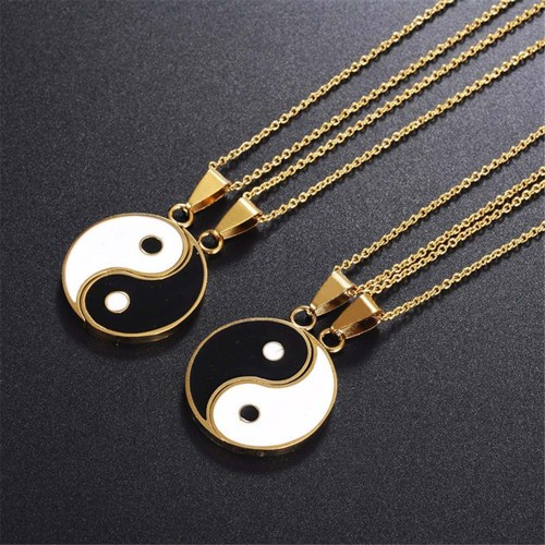 Couples Yin Yang Necklace
