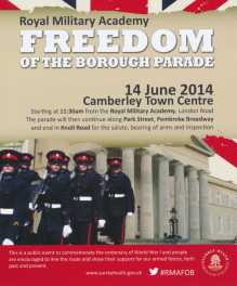 Freedom of thee Borough Parade - RMA - Windlesham and Camberley Camera Club (29)