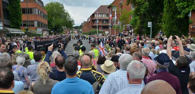 Freedom of thee Borough Parade - RMA - Windlesham and Camberley Camera Club (69)