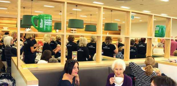 Macmillan Coffee Morning & Flash Mob 32