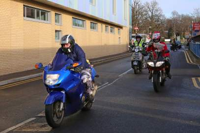 A5 Scooterists Toy run to FPH 10