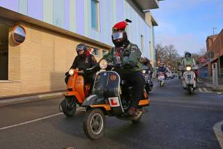 A5 Scooterists Toy run to FPH 6
