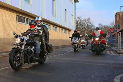 A5 Scooterists Toy run to FPH 8