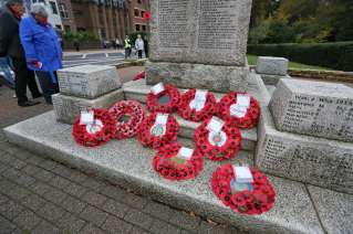 Surrey Heath Remembrance Parade 201531