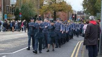 Surrey Heath Remembrance Parade 201544