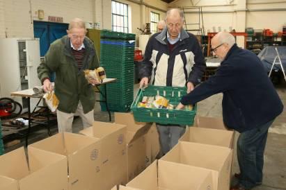 Rotary food parcels - Alan Meeks 20