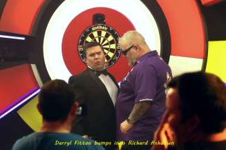 Lakeside BDO Darts 2 Jan 2016 - Alan Meeks 43