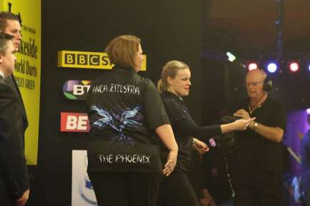 Lakeside BDO Darts 2 Jan 2016 - Alan Meeks 78