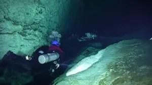 Plongée souterraine à Cenote Ponde Rosa (Jardin del Eden)