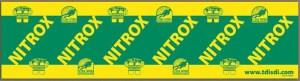 Autocollant Nitrox SDI TDI - Cours de Nitrox de TDI