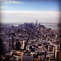 Lower Manhattan from the Empire State Building