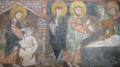 old jesus mosaic