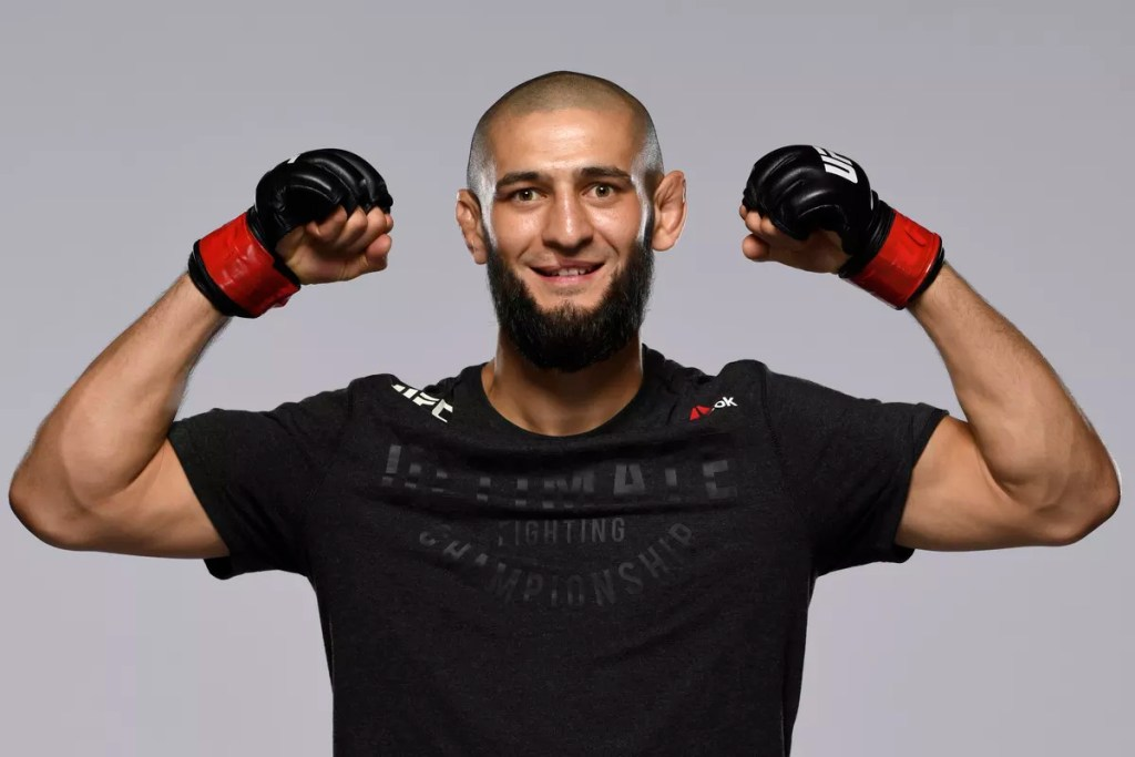 khamzat chimaev ranked 15 UFC welterweight deepersport