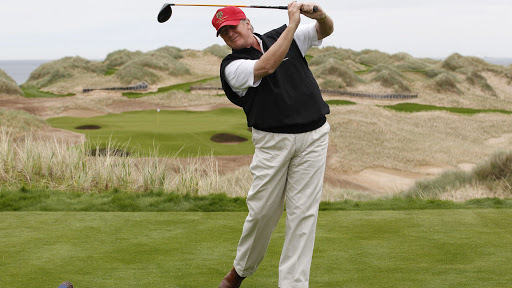donald trump golf election day biden deepersport