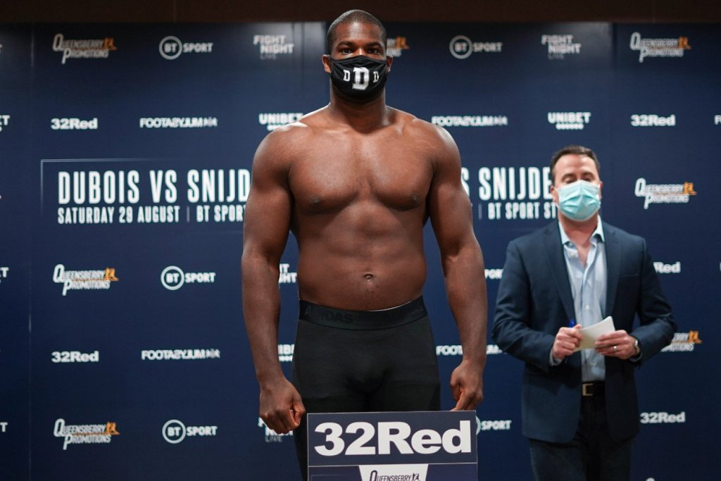 daniel dubois medical bulletin deepersport