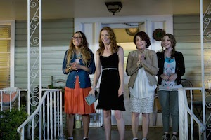 L-R: Andrea Logan White, Sarah Drew, Patricia Heaton, Sammi Hanratty. Mom's Night Out (Sony Affirm & Provident Films CR: Saeed Adyani)