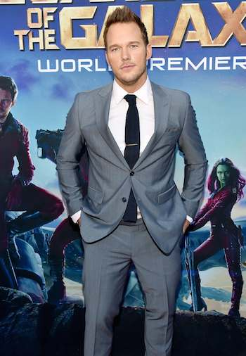 Chris Pratt - Guardians of the Galaxy World Premiere (CR: Alberto E. Rodriguez/Getty Images for Disney)
