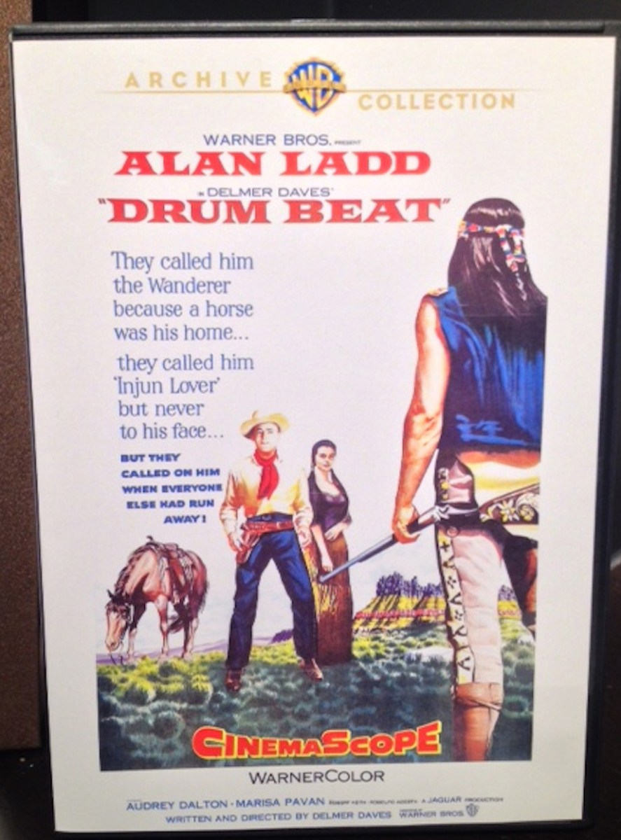 'Drum Beat' Delivers Rousing Alan Ladd & Delmer Daves Western