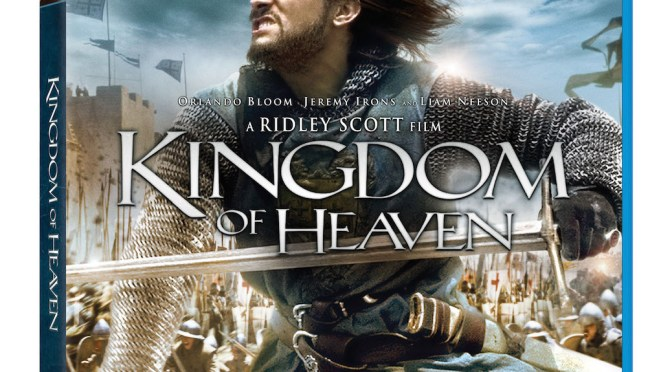 Kingdom of Heaven: Ultimate Edition Blu-Ray Ready for October