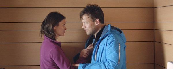 Lisa Loven Kongsli and Johannes Bah Kuhnke in FORCE MAJEURE, a Magnolia Pictures release. Photo courtesy of Magnolia Pictures.