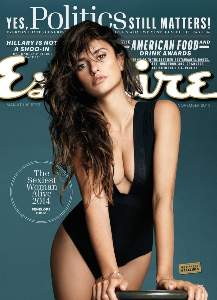 Penelope Cruz - Esquire Magazine