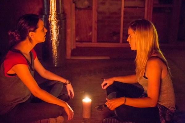 The Pact 2 - Camilla Luddington & Caity Lotz (IFC Films/IFC Midnight)