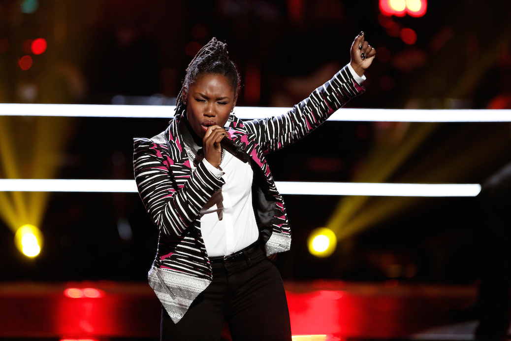 'The Voice' Anita Antoinette On Perseverance, Team Gwen, & Finding Her Voice