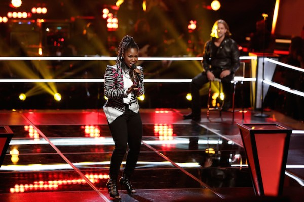"""THE VOICE -- """"Knockout Rounds"""" -- Pictured: (l-r) Anita Antoinette, Craig Wayne Boyd -- (Photo by: Tyler Golden/NBC)"""