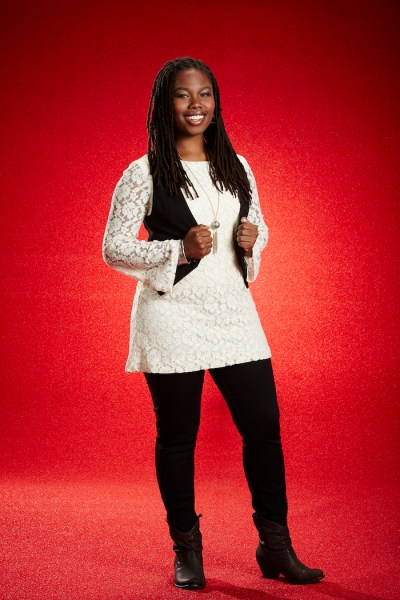 THE VOICE -- Season: 7 -- Pictured: Anita Antoinette -- (Photo by: Paul Drinkwater/NBC)