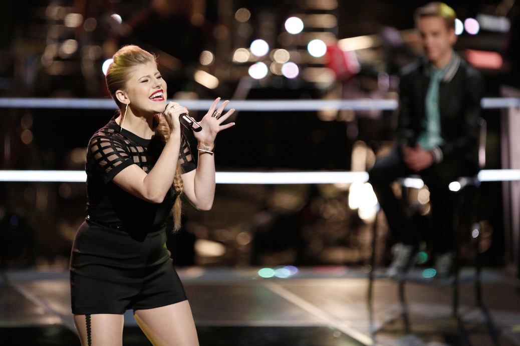 "Jessie Pitts Continues Her ""Story"" With 'The Voice' Live Playoffs"