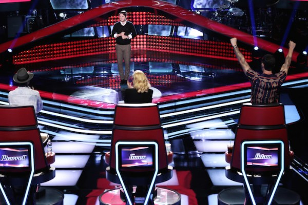 "THE VOICE -- ""Blind Auditions"" - Pictured: Luke Wade -- (Photo by: Tyler Golden/NBC)"