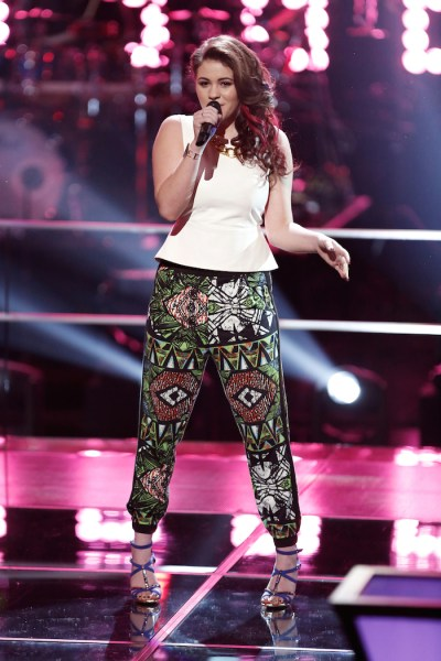 """THE VOICE -- """"Knockout Rounds"""" -- Pictured: Reagan James -- (Photo by: Tyler Golden/NBC)"""