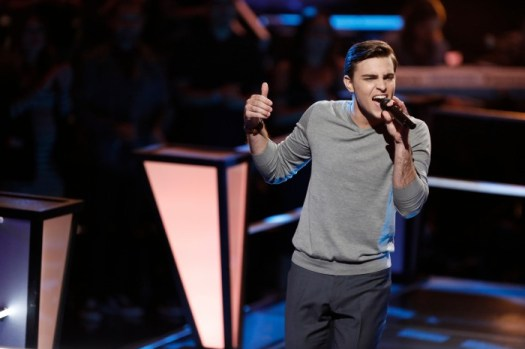 "THE VOICE --  ""Battle Rounds"" Episode 709 -- Pictured: Ricky Manning -- (Photo by: Tyler Golden/NBC)"
