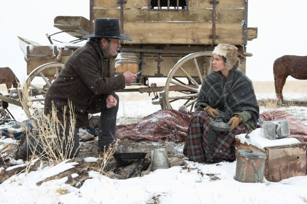 The Homesman - Tommy Lee Jones, Hilary Swank (Roadside Attractions, Dawn Jones)