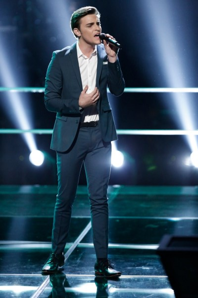 """THE VOICE -- """"Knockout Rounds"""" Episode 711 -- Pictured:  Ricky Manning -- (Photo by: Tyler Golden/NBC)"""