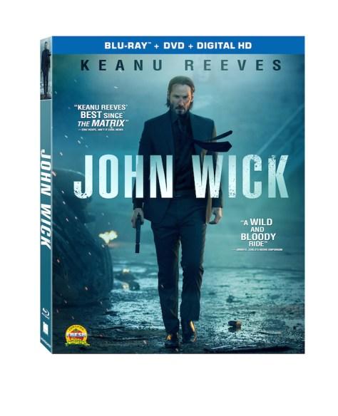 "Keanu Reeves in ""John Wick"" - Lionsgate"