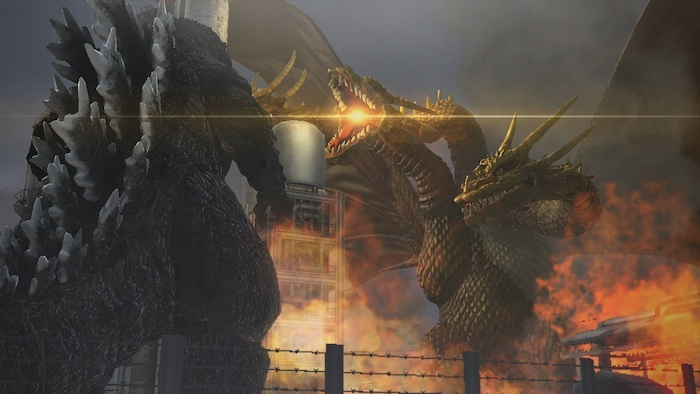 King Ghidrah in 'Godzilla' - (Banda Namco Games America Inc.)
