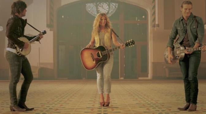"""The Band Perry Release """"Gentle On My Mind"""" Video With Alexander Ludwig"""