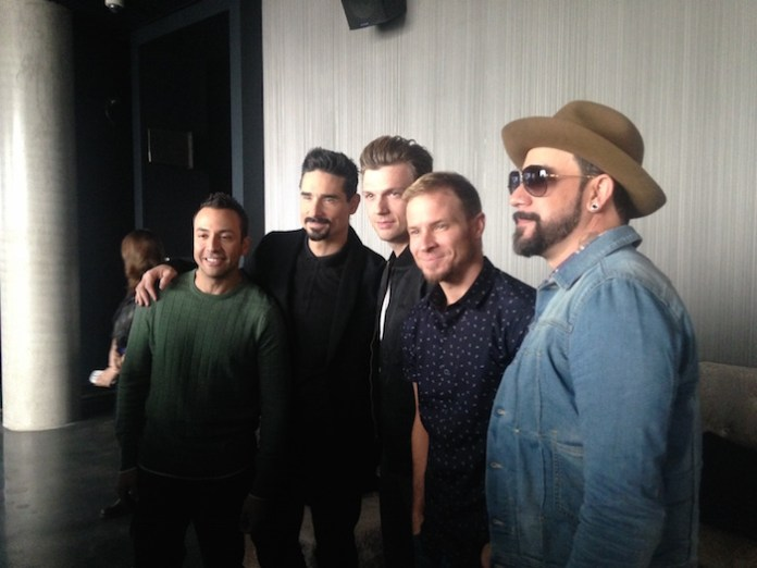 """""""Backstreet Boys: Show 'Em What You're Made Of"""" Press Conference - January 29, 2015."""