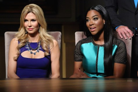 Brandi Glanville, Kenya Moore -- (Photo by: Douglas Gorenstein/NBC)