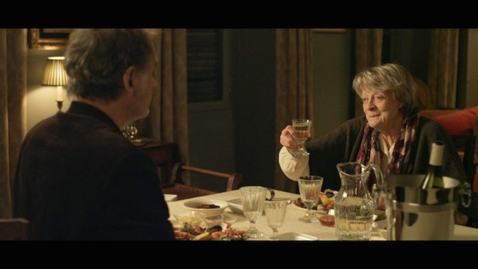 """Kevin Kline & Maggie Smith in """"My Old Lady"""""""