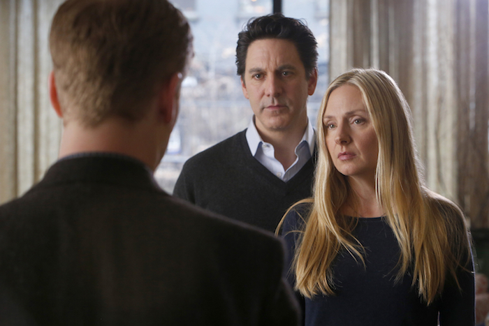 ALLEGIANCE - Pictured: (l-r) Scott Cohen as Mark O'Connor, Hope Davis as Katya O'Connor  -- (Photo by: Will Hart/NBC/NBCU Photo Bank)