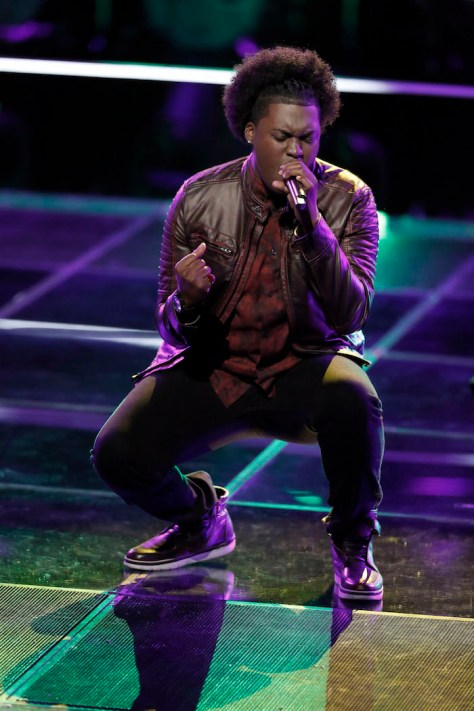 """THE VOICE -- """"Battle Rounds"""" -- Pictured: Rob Taylor -- (Photo by: Tyler Golden/NBC)"""